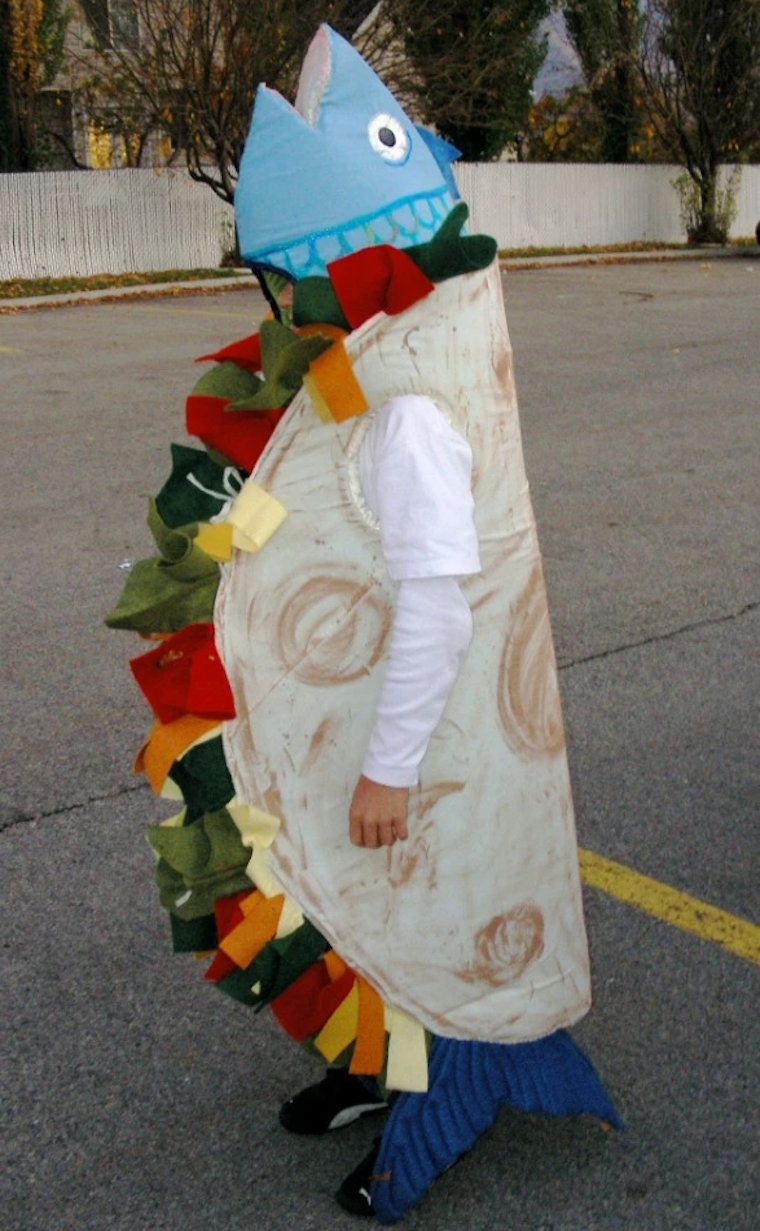 Island themed halloween costumes for Fish costume adult