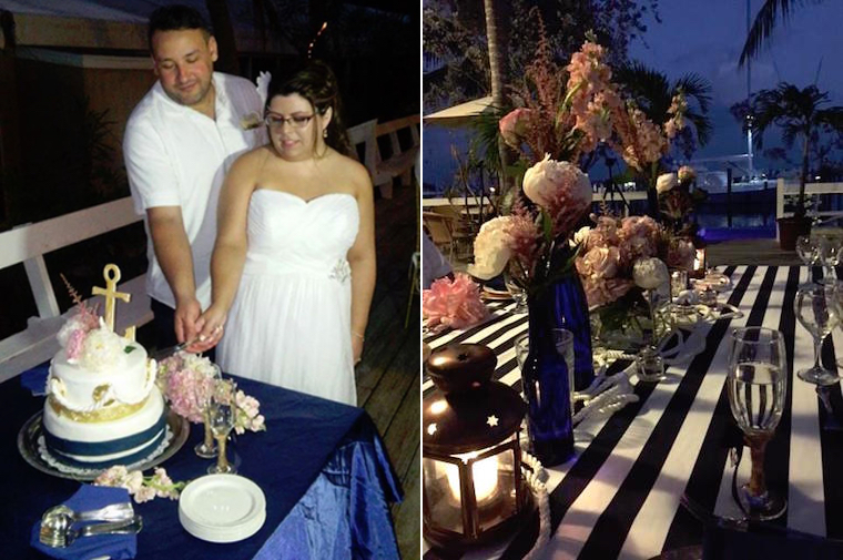 Destination wedding in the Bahamas Out Islands