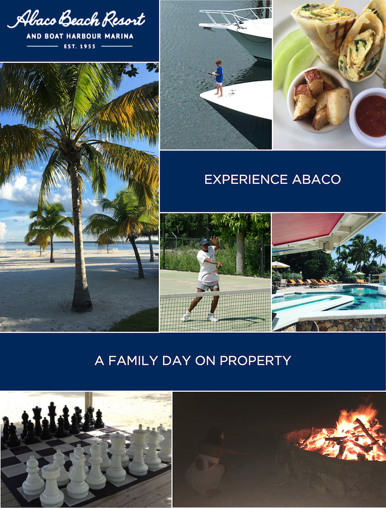 Family activities at Abaco Beach Resort
