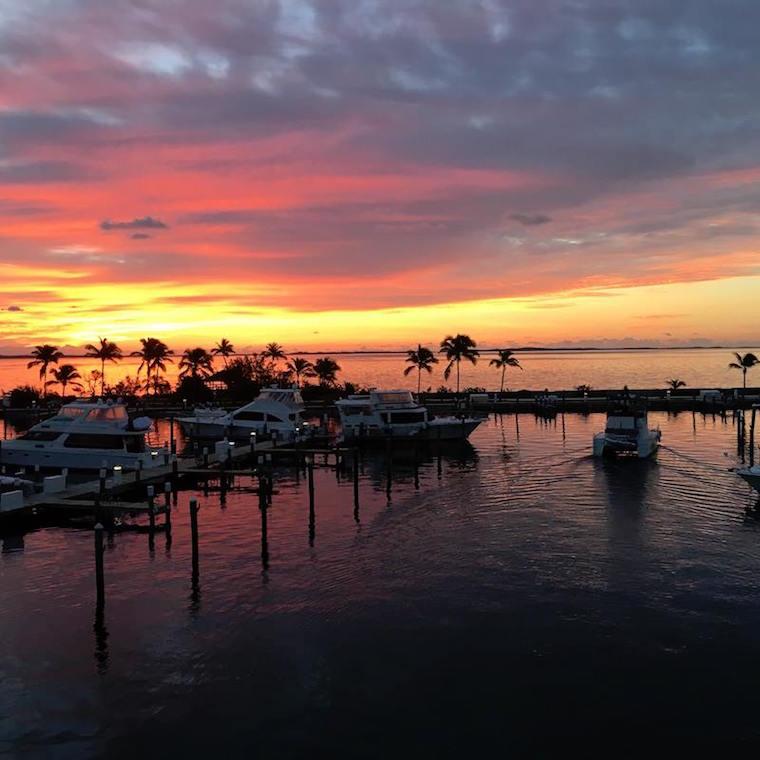 Bahamas Beach: Sunset In The Bahamas