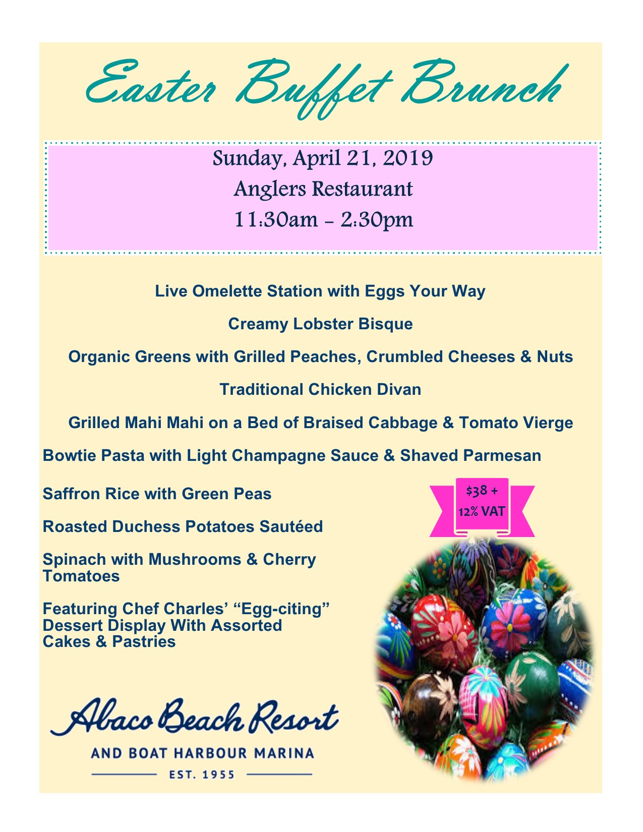 Easter Buffet Abaco