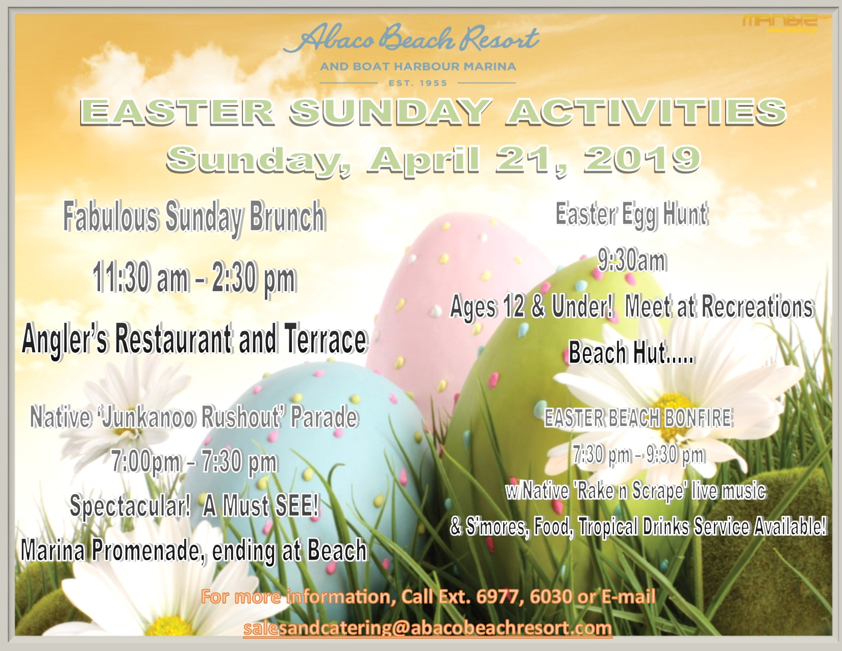 Easter in Abaco Bahamas