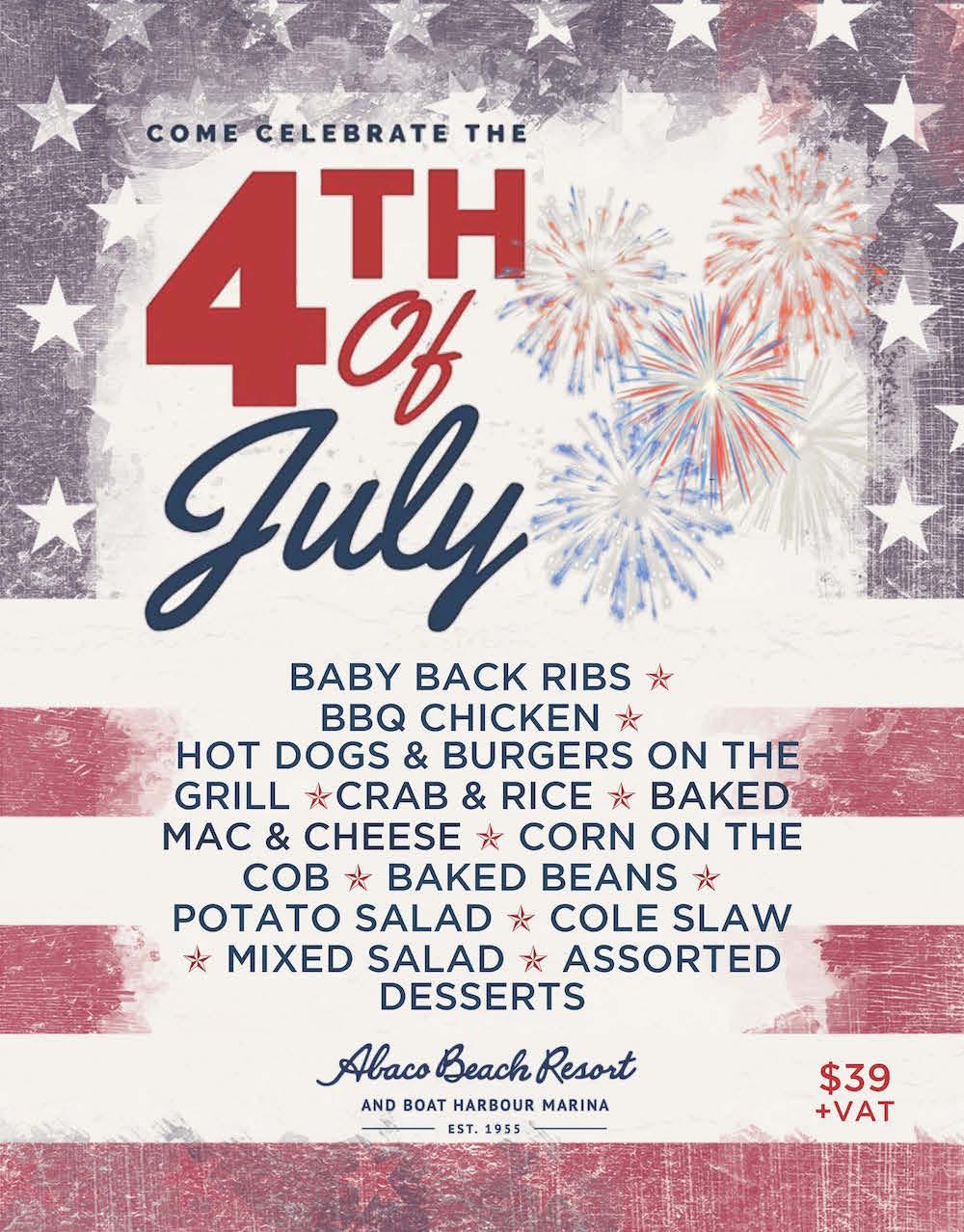 Abaco Beach Resort July 4th